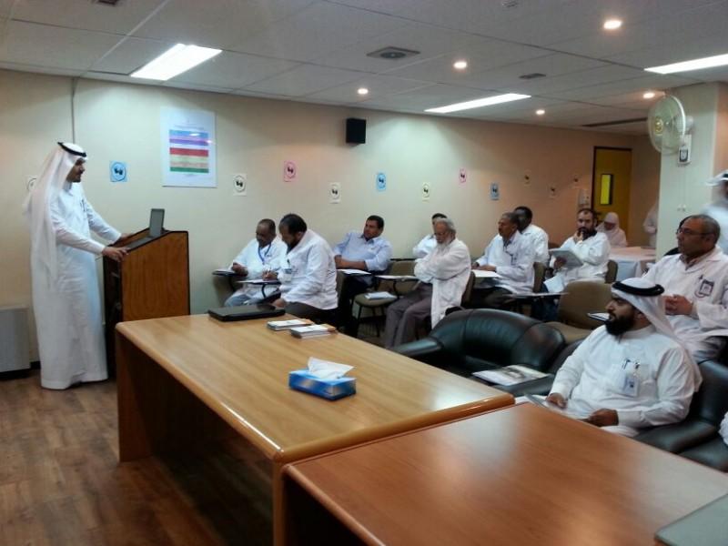 ورشة عمل بمستشفى بللسمر بالتعاون مع إدارة قطاع الرعاية ببللسمر4