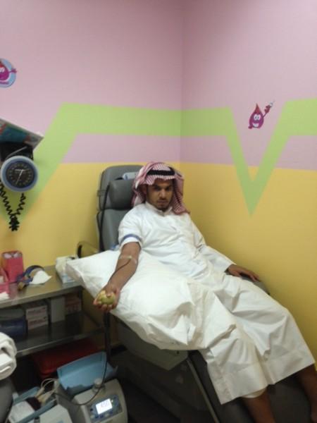 اليوم العالمي للتبرع بالدم بمستشفى بللسمر