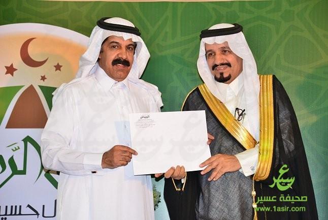 ملتقى آل حسين بللحمر يستضيف إعلاميي عسير1