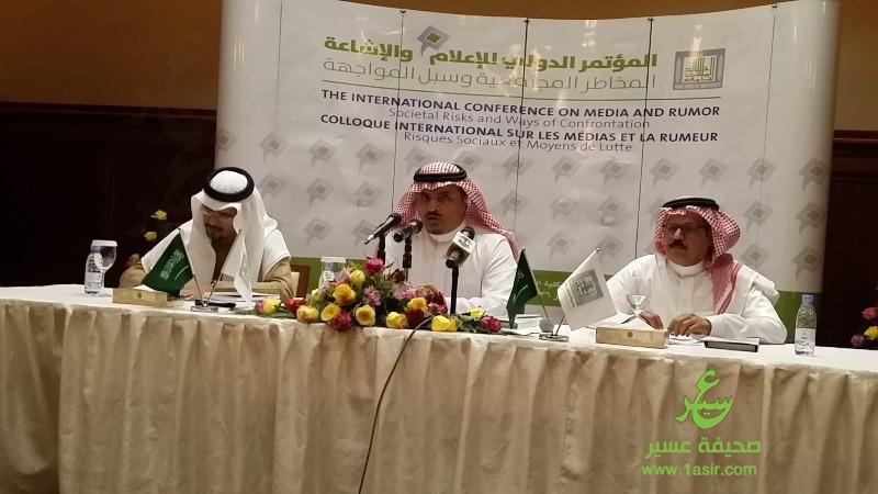 جامعة الملك خالد يتحدث لوسائل الإعلام