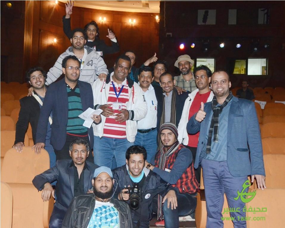 السعودي المشارك في المهرجان